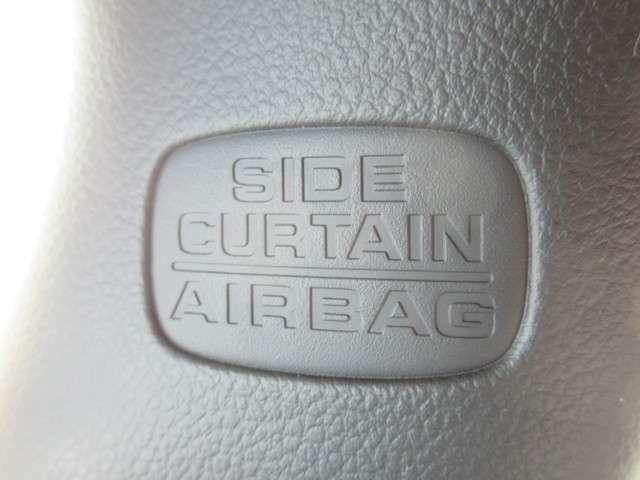 サイドカーテンエアバックを装備しております。軽自動車にこそ安全をという発想です。今まで普通車に乗られていた方にも抵抗なくお乗替え出来ますね。