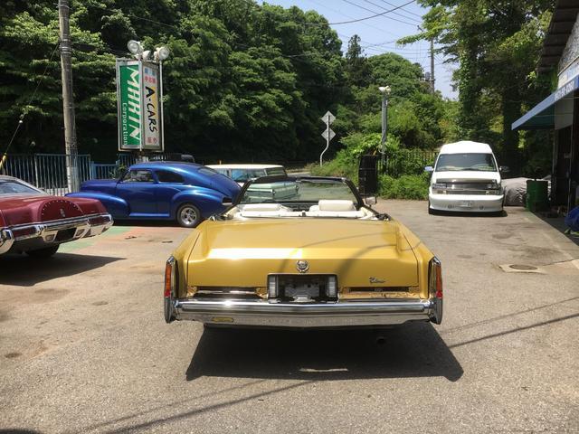 「キャデラック」「キャデラック エルドラド」「オープンカー」「千葉県」の中古車6