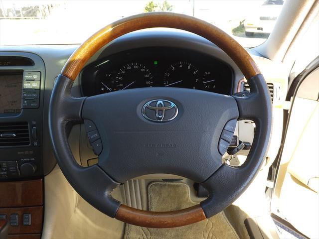 トヨタ セルシオ C仕様 ナビ地デジBモニタSRライブサウンドRシェードHID