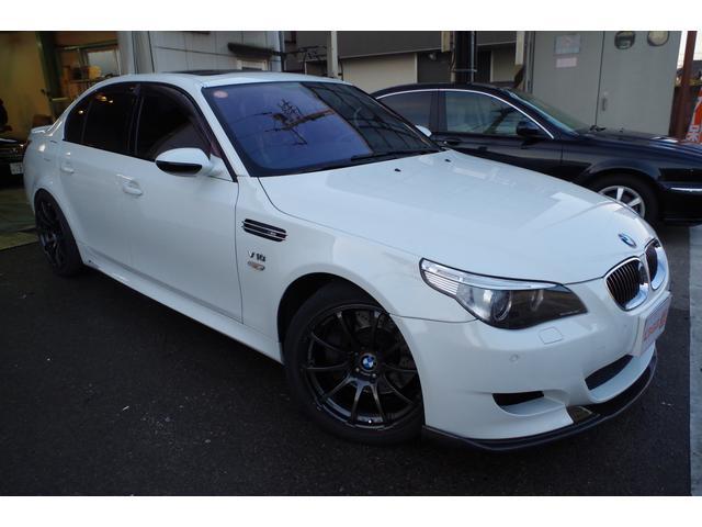 BMW BMW M5 エアロ 車高調 マフラー EVC ETC