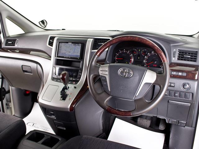 トヨタ ヴェルファイア 2.4Z後期 1オーナー HDD 新品20AW リアモニター