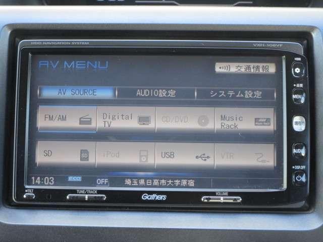 ホンダ ステップワゴン L 純正HDDナビRカメラ ワンオーナー