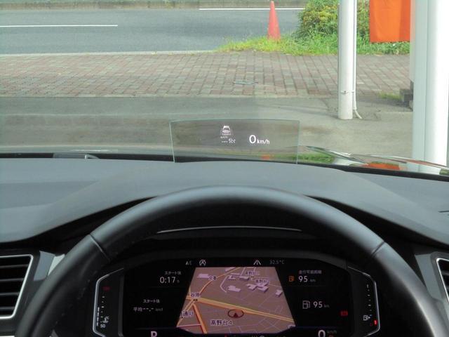 「ヘッドアップディスプレイ」を標準装備。
