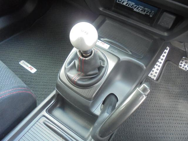 タイプR 車高調 レイズ18AW マフラー 社外SDナビ(12枚目)