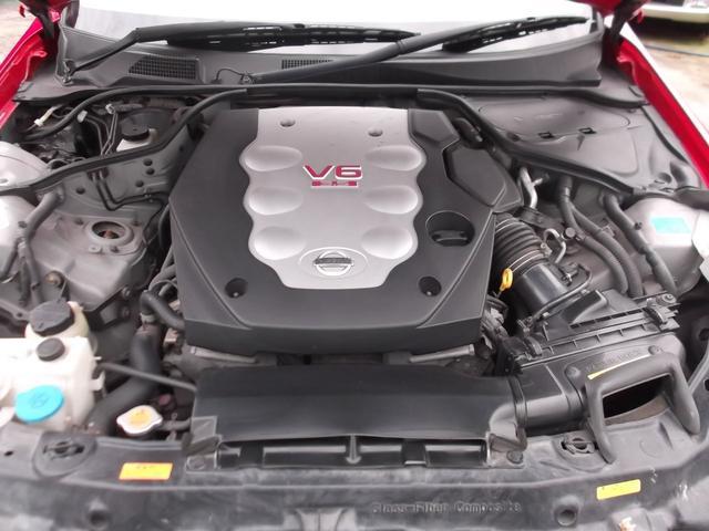 日産 スカイライン 350GT 社外アルミ 社外ナビ 色替車