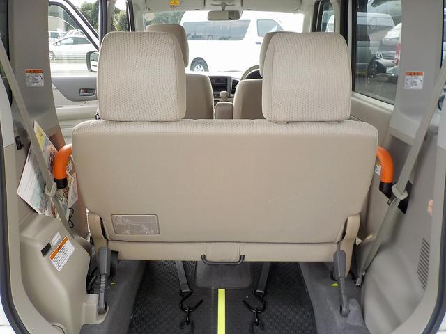 スズキ スペーシア 福祉車両 G スローパー 後席あり レーダーブレーキサポート