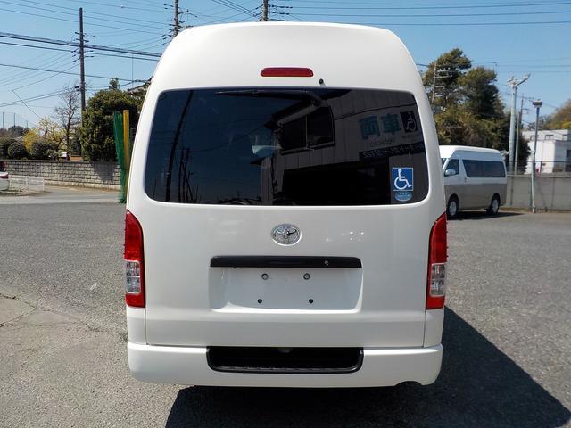 福祉車両 Bタイプ 車いす2基 バックカメラ 横窓付き(7枚目)