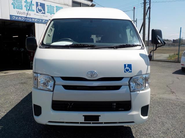 福祉車両 Bタイプ 車いす2基 バックカメラ 横窓付き(11枚目)