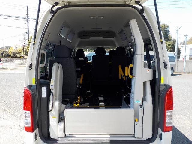 福祉車両 Bタイプ 車いす2基 バックカメラ 横窓付き(12枚目)