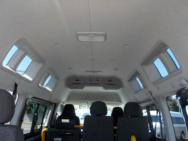 福祉車両 Bタイプ 車いす2基 バックカメラ 横窓付き(13枚目)