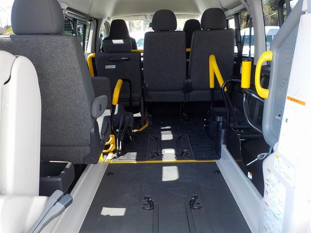 福祉車両 Bタイプ 車いす2基 バックカメラ 横窓付き(17枚目)