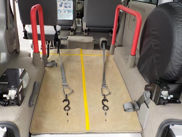 福祉車両 スロープ ウィンチ 電動固定 走行0.7万km(18枚目)