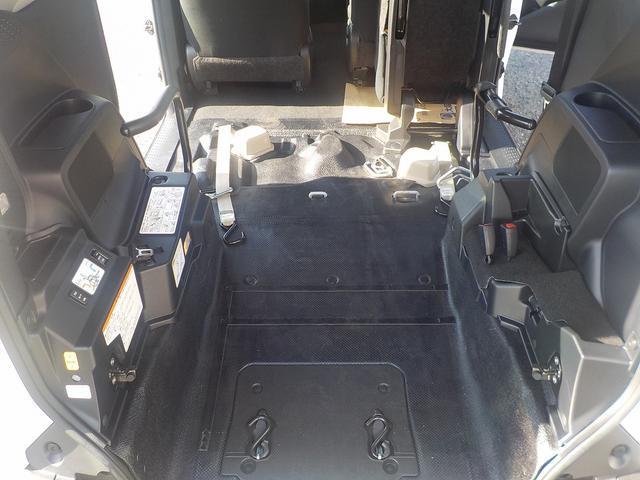 更に車いすスペースが広くなりました!