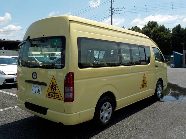 幼児バス 大人3名幼児24名 ナビBカメラ 幼児シートベルト(8枚目)