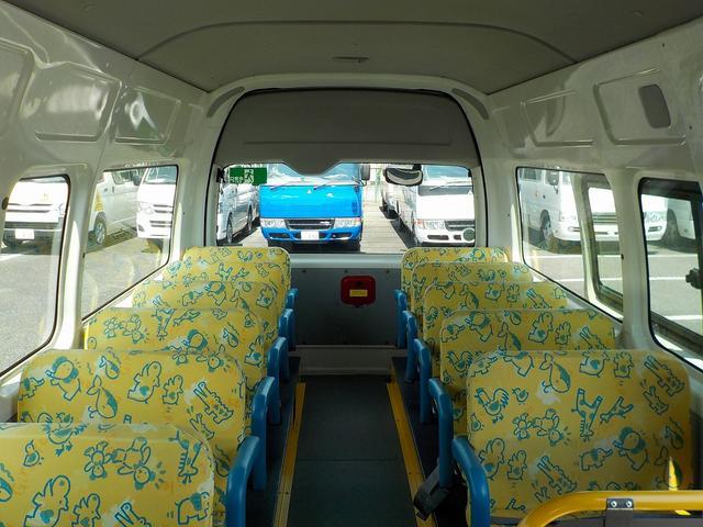 幼児バス 大人3名幼児24名 ナビBカメラ 幼児シートベルト(21枚目)