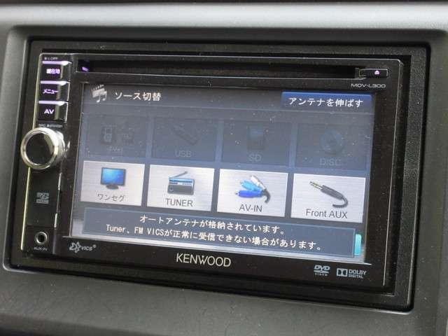 G ケンウッド製メモリーナビ ETC Rカメラ HIDライト ハロゲンフォグライト 14インチアルミ スマートキー(5枚目)