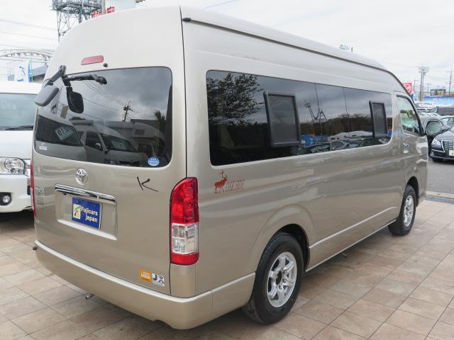 トヨタ ハイエースバン カトーモーター オークサイド 発電機 キャンピング