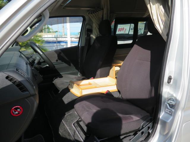 トヨタ ハイエースバン キャンピング FOCS DSコンパクト 冷蔵庫 FFヒータ-