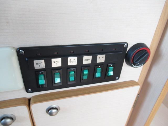 デルタリンク デルタワゴン 2WD 2700cc キャンピングカー バンコン 8人乗車 3人就寝 FFヒーター 冷蔵庫 シングルサブバッテリー 給排水10Lタンク 外部電源 バックカメラ ETC(19枚目)