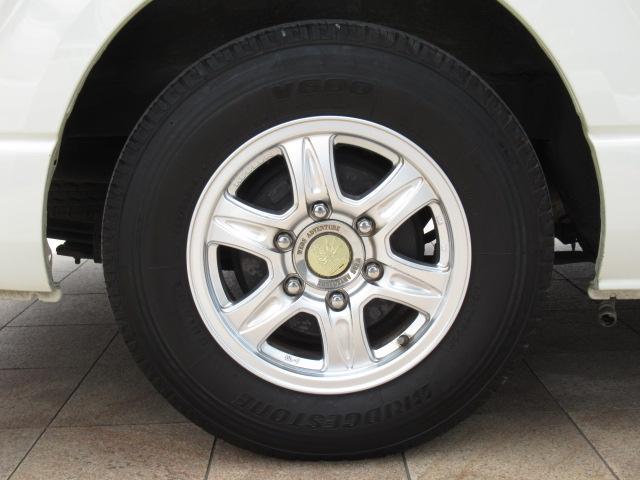デルタリンク デルタワゴン 2WD 2700cc キャンピングカー バンコン 8人乗車 3人就寝 FFヒーター 冷蔵庫 シングルサブバッテリー 給排水10Lタンク 外部電源 バックカメラ ETC(37枚目)