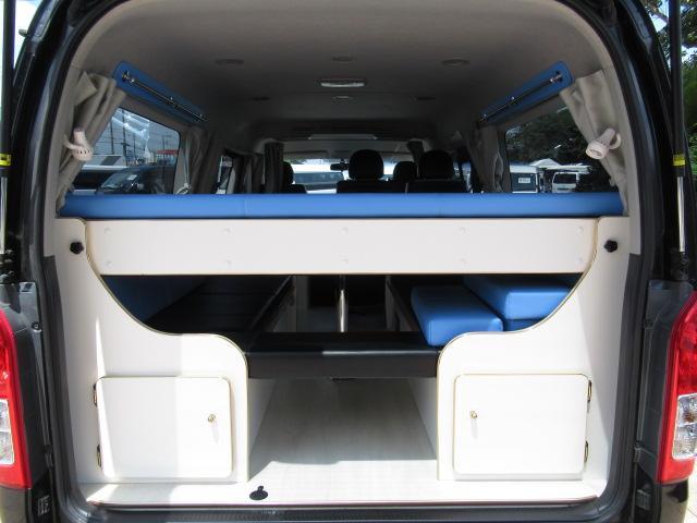 かーいんてりあ高橋 リラックスワゴンVP キャンピングカー バンコン 2700cc 2WD 10人乗車 3人就寝 テレビ 350Wインバーター サブバッテリー 走行充電 メモリーナビ フルセグ ETC(18枚目)