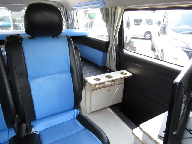 かーいんてりあ高橋 リラックスワゴンVP キャンピングカー バンコン 2700cc 2WD 10人乗車 3人就寝 テレビ 350Wインバーター サブバッテリー 走行充電 メモリーナビ フルセグ ETC(50枚目)