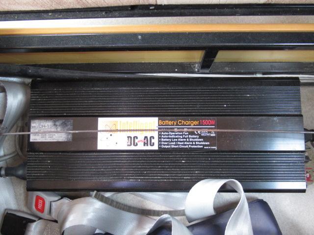 キャンピングカー キャブコン AtoZ アレン サブバッテリー 1500Wインバーター ウィンドウエアコン 電子レンジ マックスファン DC40L冷蔵庫 シンク 走行充電 外部電源(16枚目)