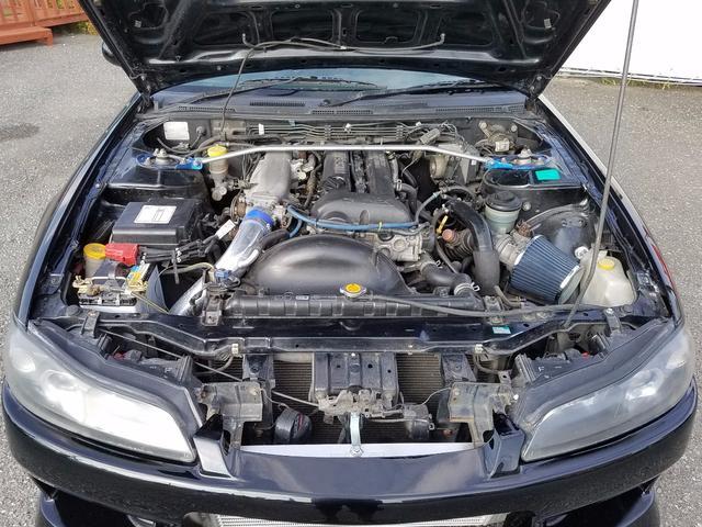 日産 シルビア スペックS S15ターボエンジン載せ換え