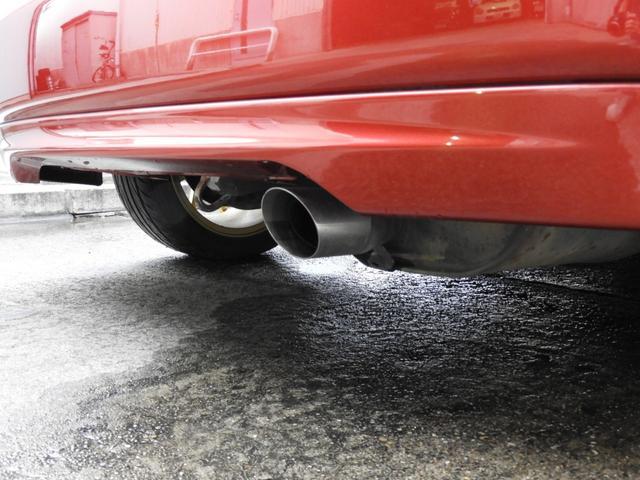 タイプR 車高調 レカロ HDDナビ ETC 社外ヘッドライト HID タイミングベルト交換済 コダワリの前期型EK9 規制前マフラーが装着できるのは前期だけ(17枚目)