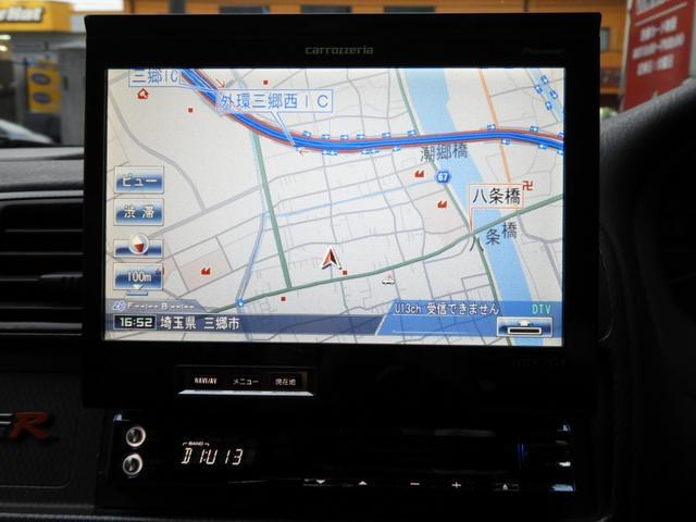 タイプR 車高調 レカロ HDDナビ ETC 社外ヘッドライト HID タイミングベルト交換済 コダワリの前期型EK9 規制前マフラーが装着できるのは前期だけ(26枚目)