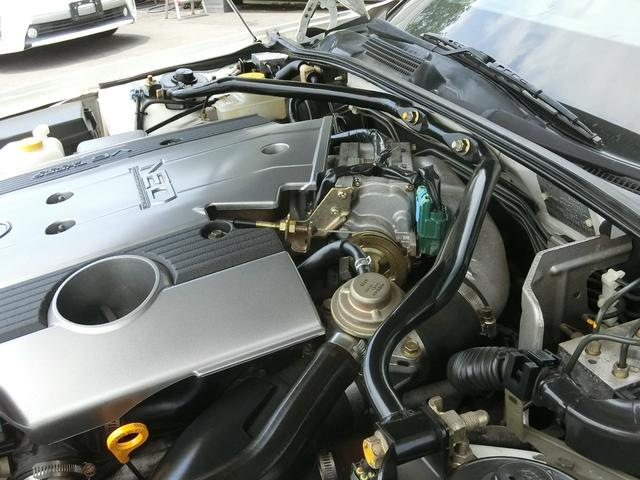 300アルティマ ブレンボ BBS17インチ VQ30インタークーラーターボ OPウッドコンビMOMOステ フジツボマフラー HIDライト ETC パワーシート 禁煙車(15枚目)