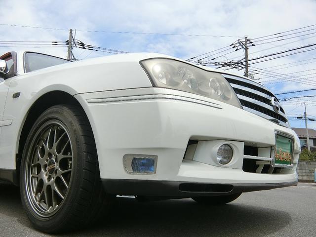 300アルティマ ブレンボ BBS17インチ VQ30インタークーラーターボ OPウッドコンビMOMOステ フジツボマフラー HIDライト ETC パワーシート 禁煙車(29枚目)