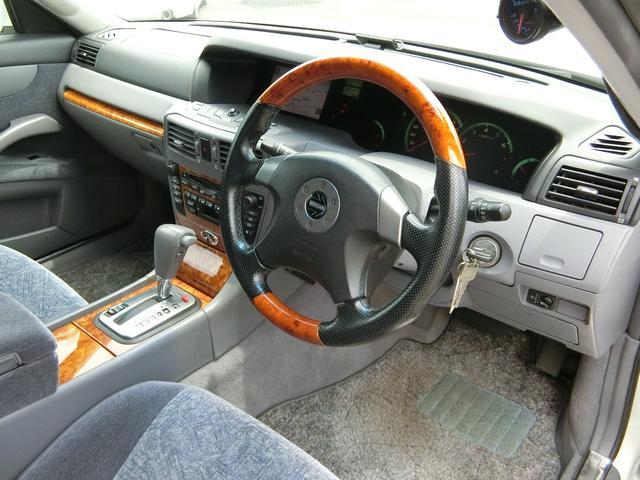 300アルティマ ブレンボ BBS17インチ VQ30インタークーラーターボ OPウッドコンビMOMOステ フジツボマフラー HIDライト ETC パワーシート 禁煙車(54枚目)