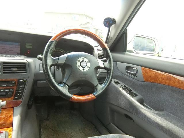 300アルティマ ブレンボ BBS17インチ VQ30インタークーラーターボ OPウッドコンビMOMOステ フジツボマフラー HIDライト ETC パワーシート 禁煙車(62枚目)