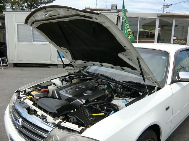 300アルティマ ブレンボ BBS17インチ VQ30インタークーラーターボ OPウッドコンビMOMOステ フジツボマフラー HIDライト ETC パワーシート 禁煙車(79枚目)
