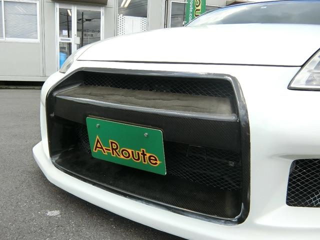 ベースグレード 6速MT 19インチアルミ GT-R風フルエアロ 社外マフラー タイミングチェーン VQ35 キーレス HDDナビ MOMOステ 電格ミラー(40枚目)