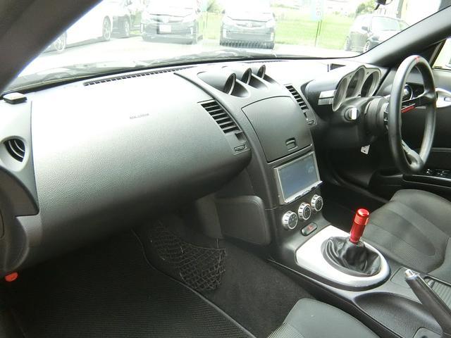 ベースグレード 6速MT 19インチアルミ GT-R風フルエアロ 社外マフラー タイミングチェーン VQ35 キーレス HDDナビ MOMOステ 電格ミラー(45枚目)