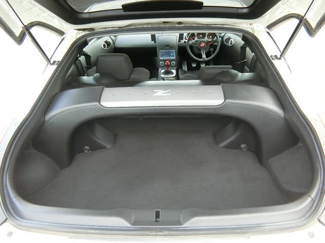 ベースグレード 6速MT 19インチアルミ GT-R風フルエアロ 社外マフラー タイミングチェーン VQ35 キーレス HDDナビ MOMOステ 電格ミラー(66枚目)