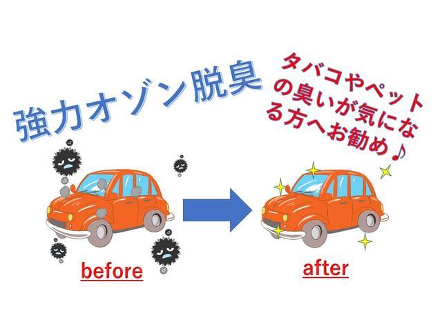車内の臭い、たばこ、ペットの臭いが気になる方へお勧めです♪協力オゾンで臭いの元からスッキリです♪