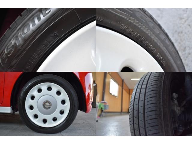 ミラココア専用ホイールキャップ!!タイヤも 2016年製 ブリジストン 8分山!!155/65/14☆ガリ傷などなく状態も良好です♪