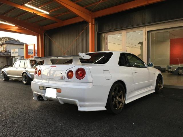 GT-R TE37AW NISMOマフラー(8枚目)