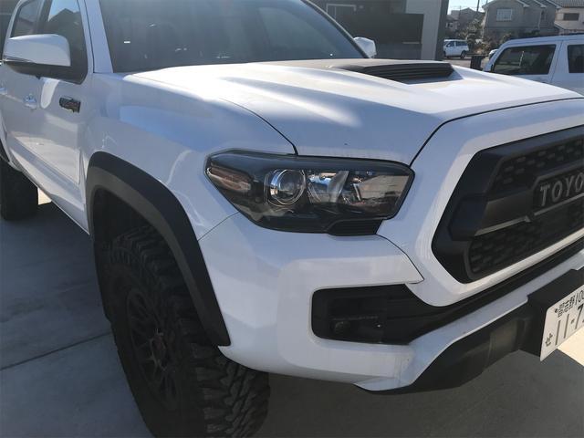 TRD PRO 新車並行車 ワンオーナー 4WD クルーズコントロール バックカメラ オートライト TRDパーツ レーンキープアシスト スマートキー(18枚目)
