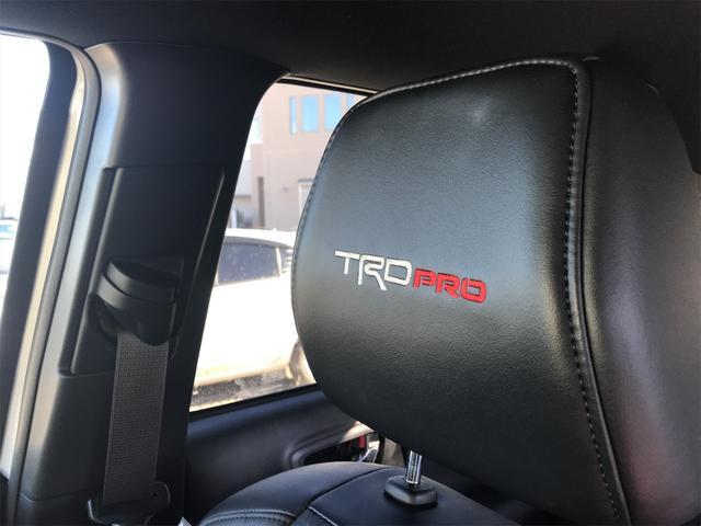 TRD PRO 新車並行車 ワンオーナー 4WD クルーズコントロール バックカメラ オートライト TRDパーツ レーンキープアシスト スマートキー(24枚目)