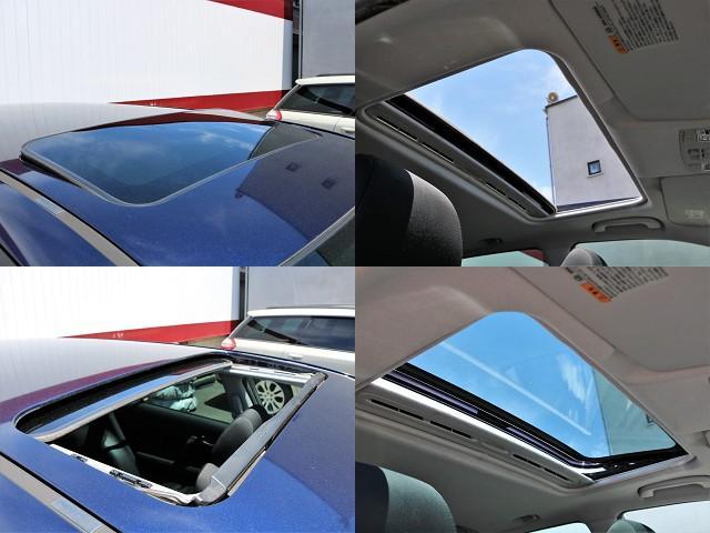 希少メーカーOPの大開口のサンルーフを装備☆車内の換気にとても便利で採光性にも優れていますしなにより開放感と高級感がありますね☆後付けできない装備ですので是非装着車をお勧めいたします☆
