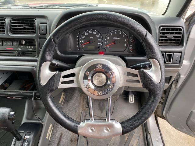 JZリフトアップ 社外ホイール 革シート 4WD ABS(16枚目)