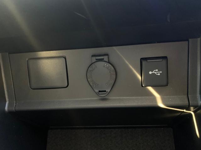 【アクセサリーコンセント】センターコンソール内にDC12V&USB端子を装備♪