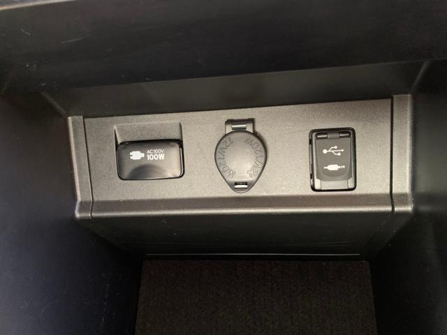 【アクセサリーコンセント】コンソール内にAC100V&DC12V&オーディオ入力・USB端子を装備♪