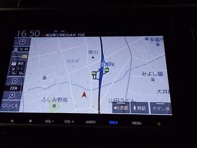 13G・Lホンダセンシング 元試乗車 8インチナビ ドラレコ(7枚目)