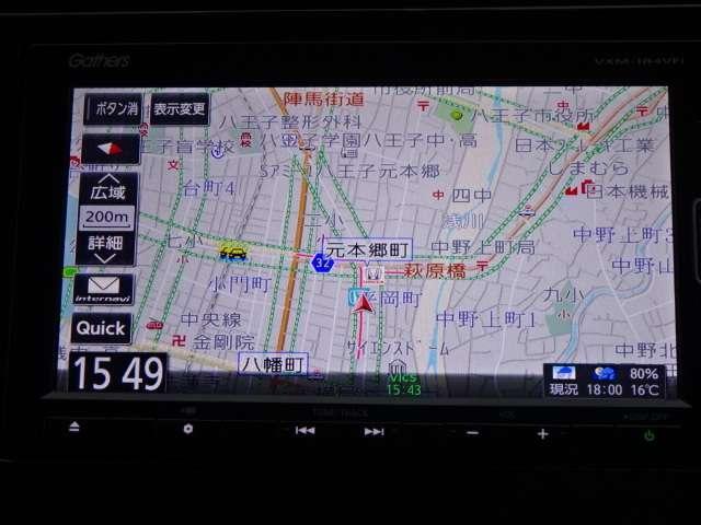L ホンダセンシング 当社デモカー ナビ Rカメラ(3枚目)