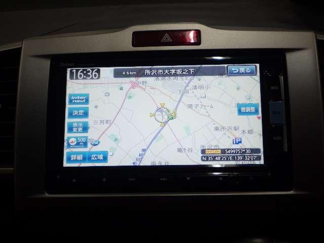 純正ナビ【VXM-142VFI】が装着されています!これで知らない場所へも迷わず行けますね♪インターナビ対応なので電話回線を通じてタイムリーに交通情報をナビ画面に反映!しかも通信費はホンダが負担!
